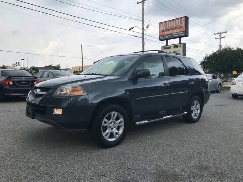 2005 Acura MDX for sale at Autohaus of Greensboro in Greensboro NC
