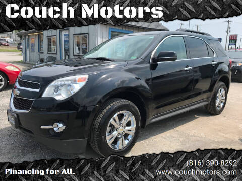 2012 Chevrolet Equinox for sale at Couch Motors in Saint Joseph MO