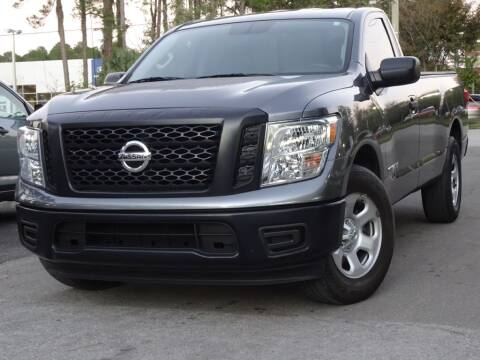 2017 Nissan Titan for sale at Deal Maker of Gainesville in Gainesville FL