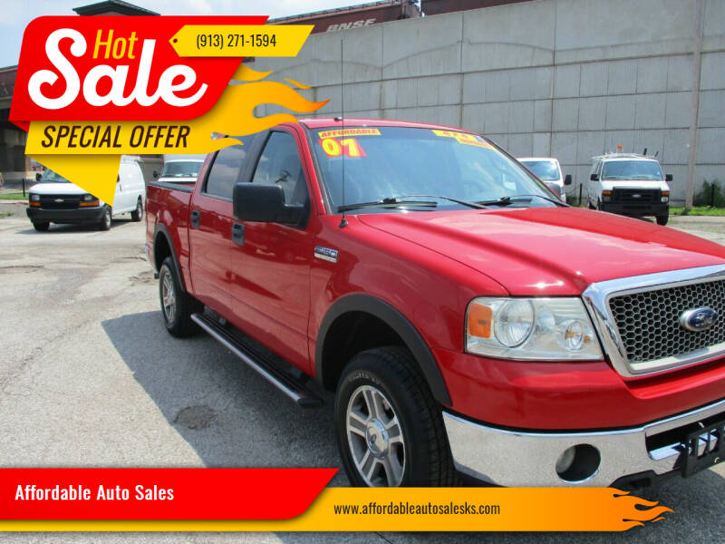 2007 Ford F-150 for sale at Affordable Auto Sales in Olathe KS