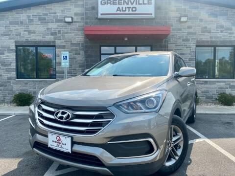2018 Hyundai Santa Fe Sport for sale at GREENVILLE AUTO in Greenville WI
