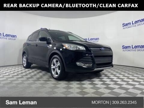 2016 Ford Escape for sale at Sam Leman CDJRF Morton in Morton IL