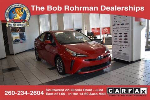 2021 Toyota Prius for sale at BOB ROHRMAN FORT WAYNE TOYOTA in Fort Wayne IN
