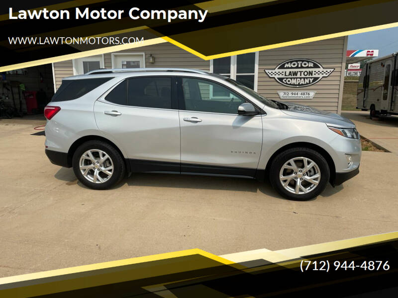 2018 Chevrolet Equinox for sale at Lawton Motor Company in Lawton IA