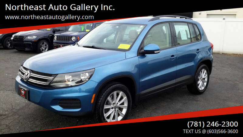2017 Volkswagen Tiguan for sale at Northeast Auto Gallery Inc. in Wakefield Ma MA
