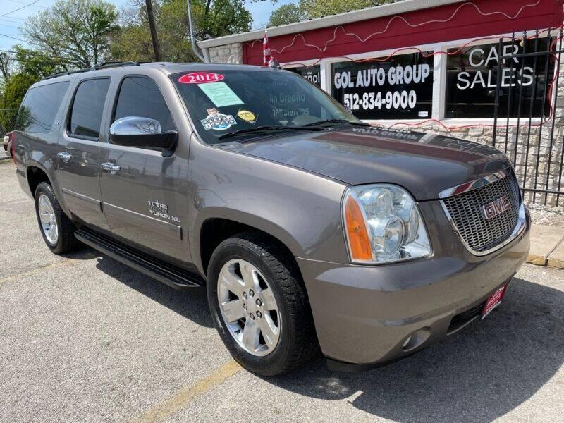 2014 GMC Yukon XL for sale at GOL Auto Group in Austin TX