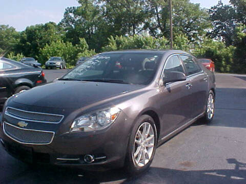 2010 Chevrolet Malibu for sale at Bates Auto & Truck Center in Zanesville OH