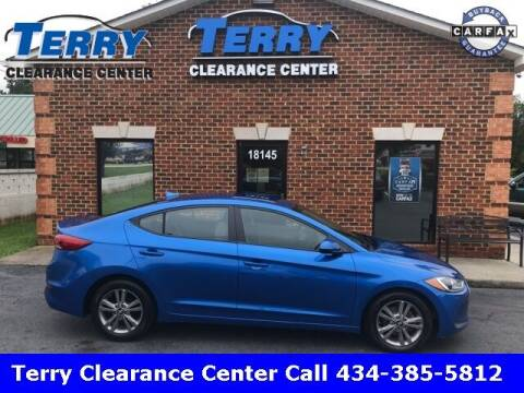 2017 Hyundai Elantra for sale at Terry Clearance Center in Lynchburg VA