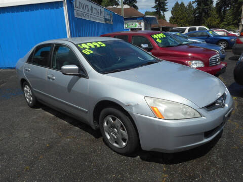 2005 Honda Accord for sale at Lino's Autos Inc in Vancouver WA