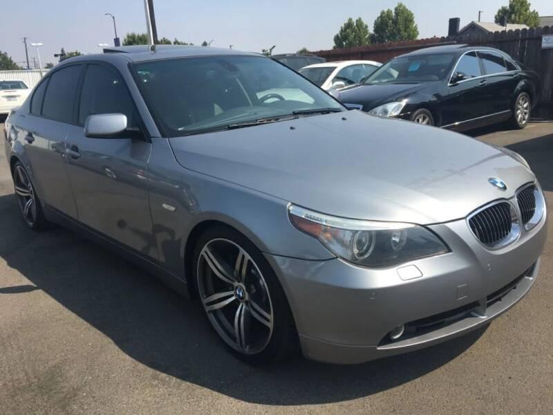 2006 BMW 5 Series for sale at Dealer Finance Auto Center LLC in Sacramento CA