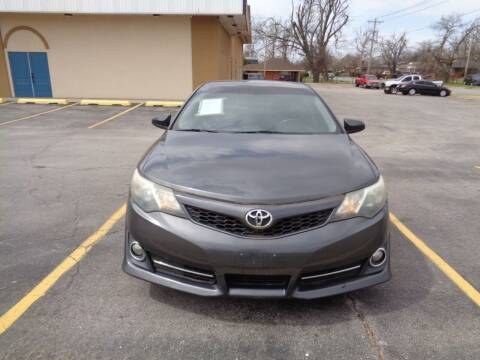 2012 Toyota Camry for sale at AUTO PRO in Oklahoma City OK
