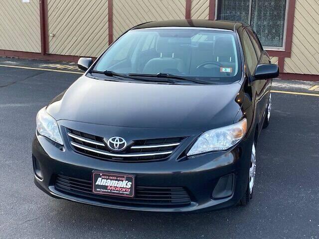 2013 Toyota Corolla for sale at Anamaks Motors LLC in Hudson NH