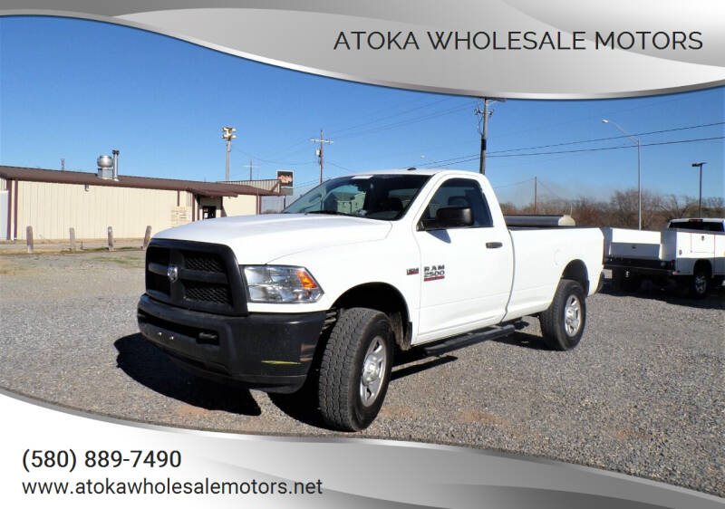 2016 RAM Ram Pickup 2500 for sale at ATOKA WHOLESALE MOTORS in Atoka OK