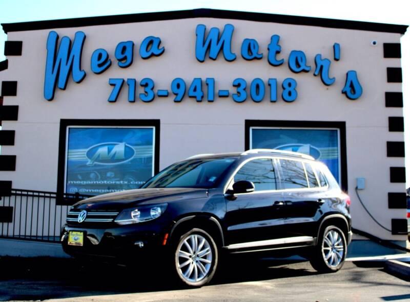 2012 Volkswagen Tiguan for sale at MEGA MOTORS in South Houston TX