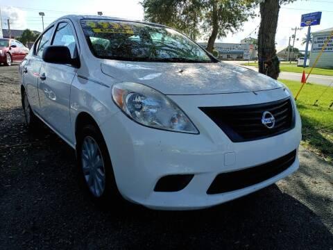 2014 Nissan Versa for sale at AFFORDABLE AUTO SALES OF STUART in Stuart FL