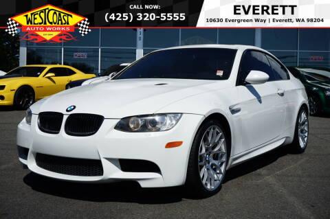 2009 BMW M3 for sale at West Coast Auto Works in Edmonds WA
