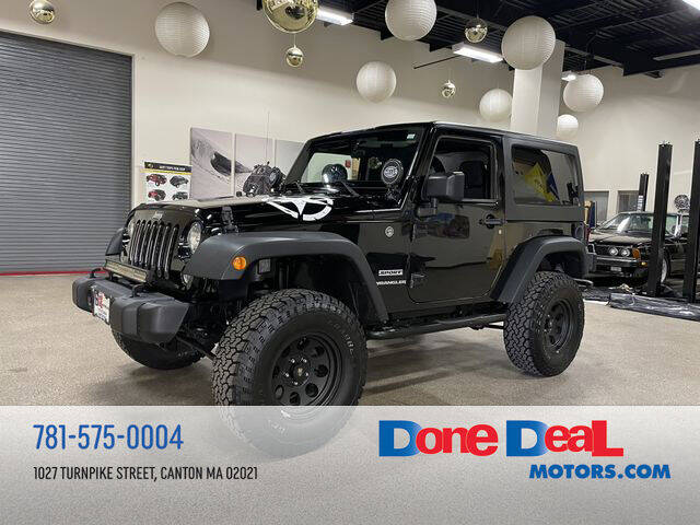 2016 Jeep Wrangler for sale at DONE DEAL MOTORS in Canton MA