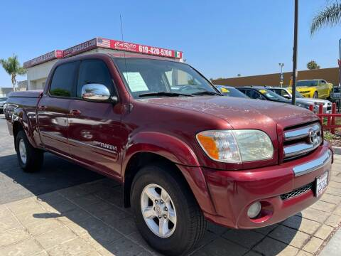 2006 Toyota Tundra for sale at CARCO SALES & FINANCE in Chula Vista CA