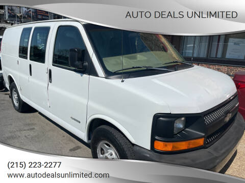 2003 Chevrolet Express Cargo for sale at AUTO DEALS UNLIMITED in Philadelphia PA