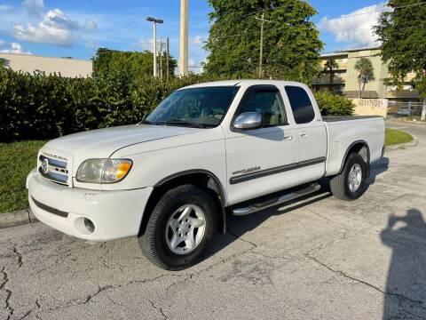 2004 Toyota Tundra for sale at D & P OF MIAMI CORP in Miami FL