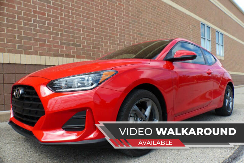 2019 Hyundai Veloster for sale at Macomb Automotive Group in New Haven MI
