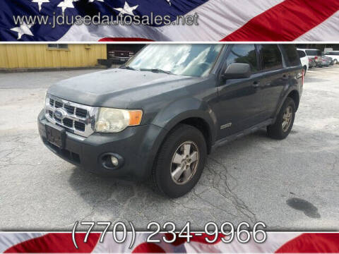 2008 Ford Escape for sale at J D USED AUTO SALES INC in Doraville GA