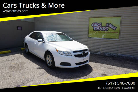 2013 Chevrolet Malibu for sale at Cars Trucks & More in Howell MI