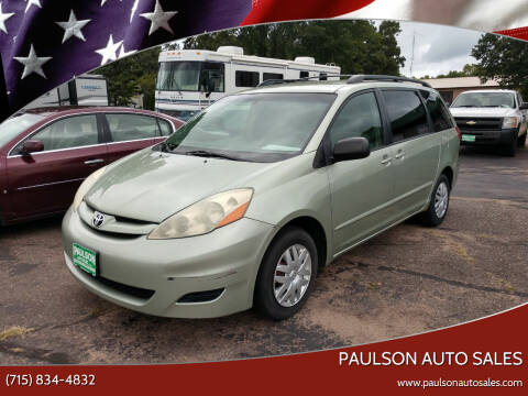 2006 Toyota Sienna for sale at Paulson Auto Sales in Chippewa Falls WI