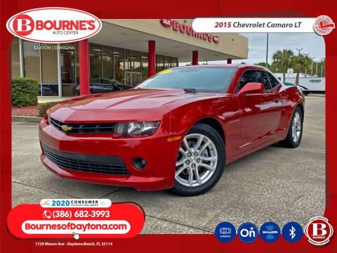 2015 Chevrolet Camaro for sale at Bourne's Auto Center in Daytona Beach FL