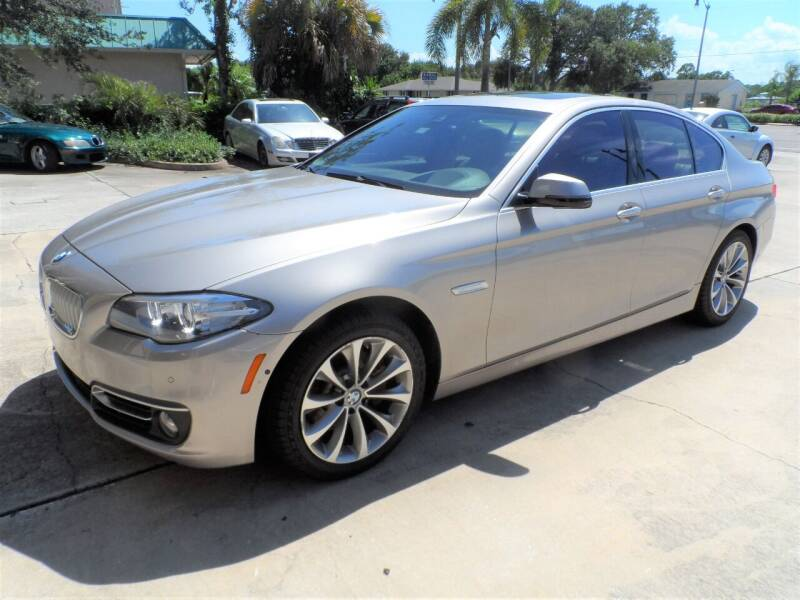 2014 BMW 5 Series for sale at Bavarian Auto Center in Rockledge FL