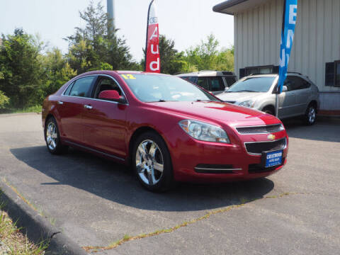 2012 Chevrolet Malibu for sale at Crestwood Auto Sales in Swansea MA
