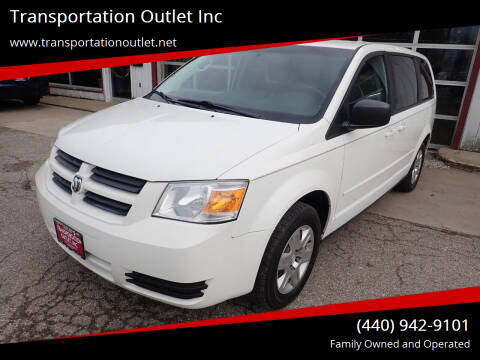 2010 Dodge Grand Caravan for sale at Transportation Outlet Inc in Eastlake OH