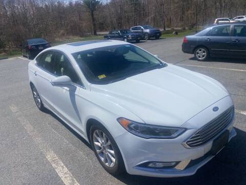 2017 Ford Fusion for sale at Anawan Auto in Rehoboth MA