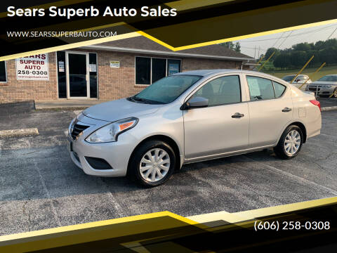 2017 Nissan Versa for sale at Sears Superb Auto Sales in Corbin KY