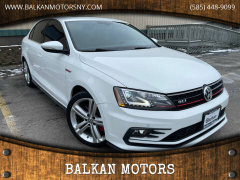2016 Volkswagen Jetta for sale at BALKAN MOTORS in East Rochester NY