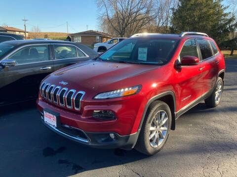 2017 Jeep Cherokee for sale at Louisburg Garage, Inc. in Cuba City WI