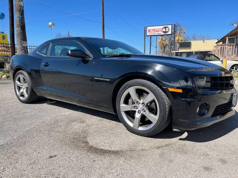 2011 Chevrolet Camaro for sale at Auto A to Z / General McMullen in San Antonio TX