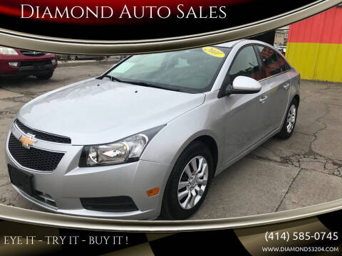 2011 Chevrolet Cruze for sale at Diamond Auto Sales in Milwaukee WI