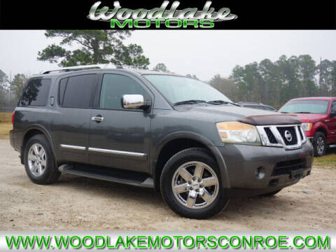 2010 Nissan Armada for sale at WOODLAKE MOTORS in Conroe TX