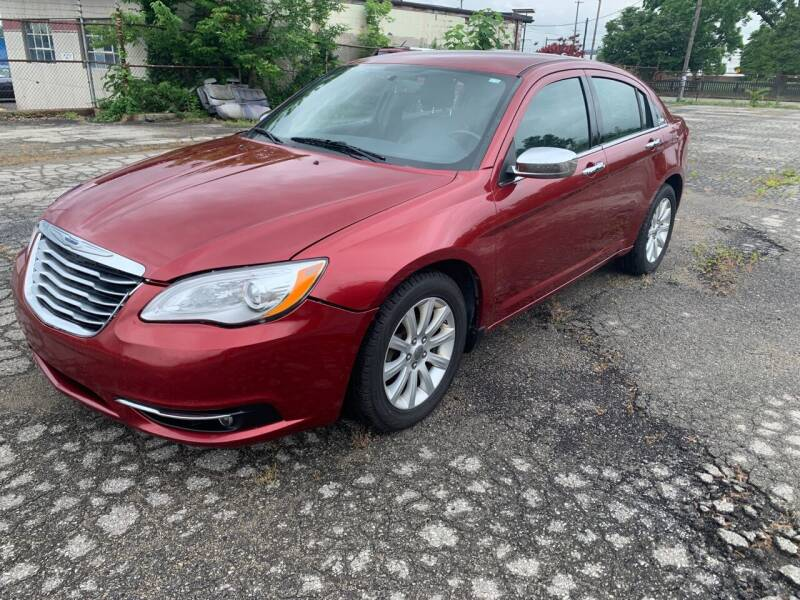 2013 Chrysler 200 for sale at Eddie's Auto Sales in Jeffersonville IN