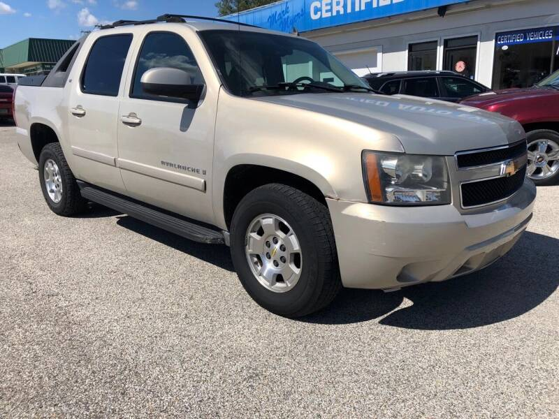 2007 Chevrolet Avalanche for sale at Perrys Certified Auto Exchange in Washington IN