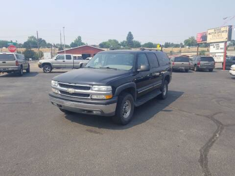 2004 Chevrolet Suburban for sale at Boise Motor Sports in Boise ID