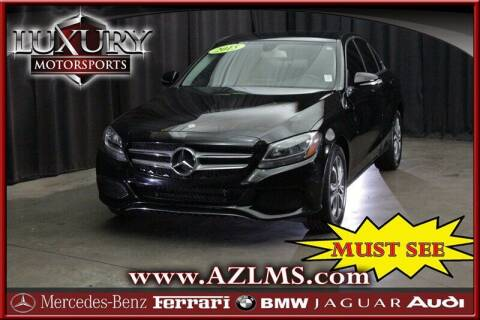 2015 Mercedes-Benz C-Class for sale at Luxury Motorsports in Phoenix AZ