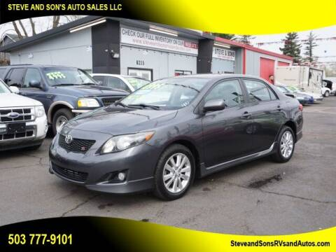 2009 Toyota Corolla for sale at Steve & Sons Auto Sales in Happy Valley OR