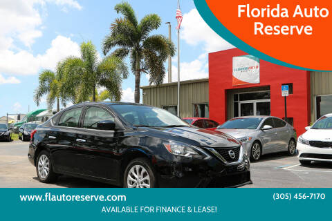 2019 Nissan Sentra for sale at Florida Auto Reserve in Medley FL