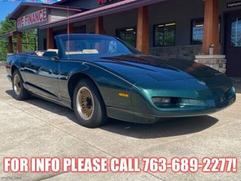 1992 Pontiac Firebird for sale at Affordable Auto Sales in Cambridge MN