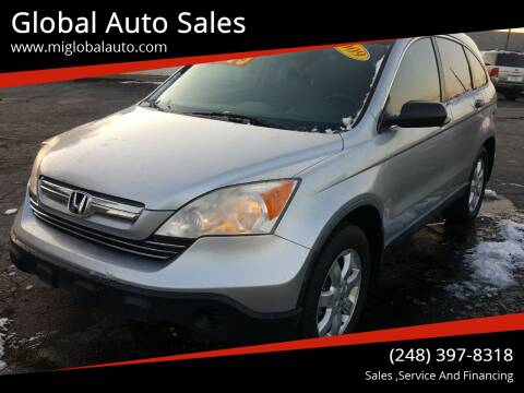 2009 Honda CR-V for sale at Global Auto Sales in Hazel Park MI