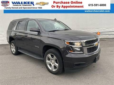 2018 Chevrolet Tahoe for sale at WALKER CHEVROLET in Franklin TN