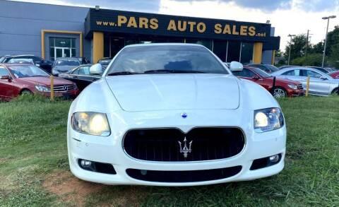 2013 Maserati Quattroporte for sale at Pars Auto Sales Inc in Stone Mountain GA
