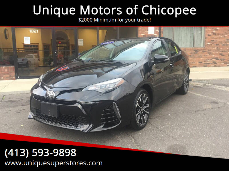 2017 Toyota Corolla for sale at Unique Motors of Chicopee in Chicopee MA